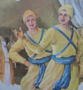 Baba Zorawar Singh Ji and Baba Fateh Singh Ji