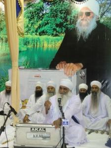 Sant Baba Mann Singh Ji (Pehowa Wale) at the Asthaan, August 2012